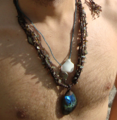 Labradorite Neckless